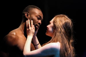 Paapa Essiedu and Daisy Whalley at the Tobacco Factory, Bristol, in 2015.