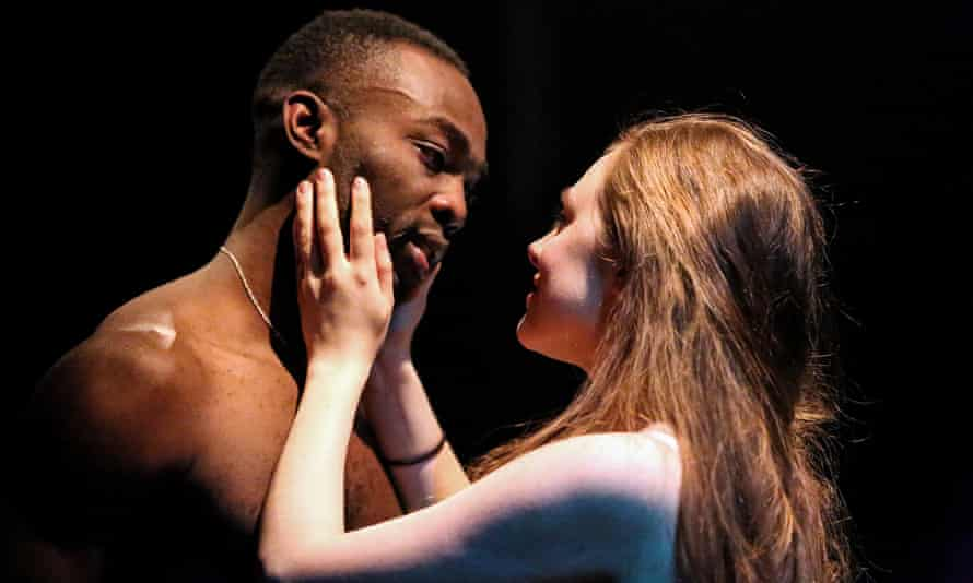 Paapa Essiedu as Romeo and Daisy Whalley as Juliet at the Tobacco Factory last year.