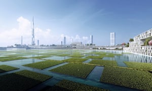 """Next Tokyo 2045"" imagines a multi-faceted, mega-city built to withstand climate change and natural disasters."
