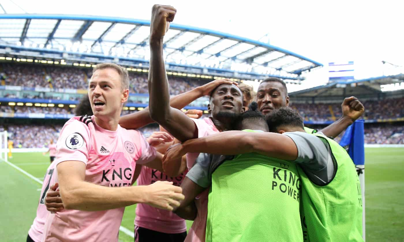 Wilfred Ndidi rescues point for Leicester after first-half howler against Chelsea