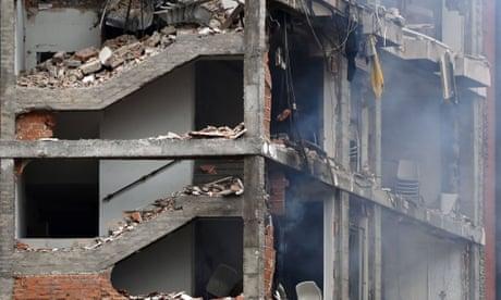 Madrid explosion leaves at least three dead