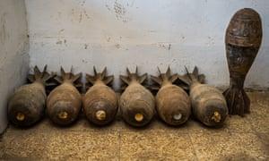 Defused Isis bombs