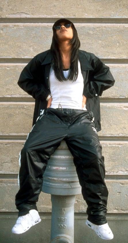 Aaliyah in 1997.
