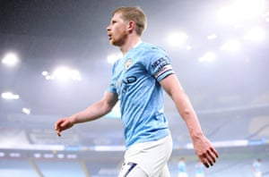 Kevin De Bruyne made another important intervention to set up Manchester City's opener against Palace.