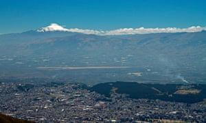 Quito, Ecuador, the setting for the UN's Habitat III conference