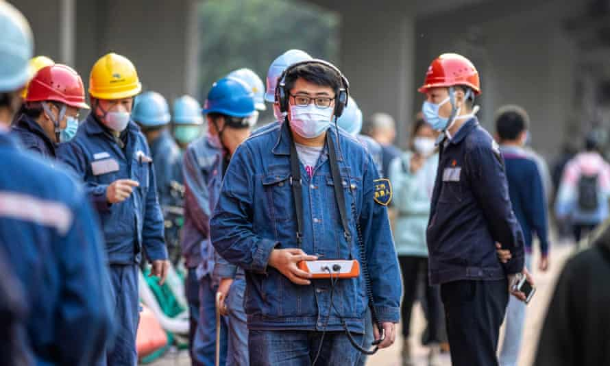 Coronavirus outbreak: workers in Guangdong, which is the second worst-hit province.