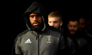 Harlequins' Semi Kunatani is one of two rugby players reportedly arrested in Fiji for failing to observe a 14-day quarantine on their return to the country.