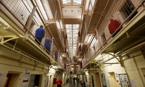 HMP Barlinnie in Scotland. All family visits to Scottish prisons have been suspended.