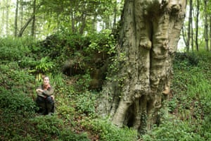 Emily Mott in Markwells Wood