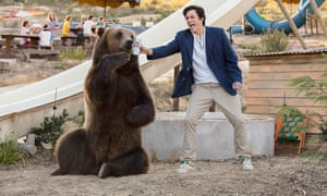 Johnny Knoxville and ursine pal in Action Point.