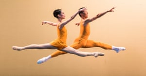 Energy and warmth … Birmingham Royal Ballet soloists in Concerto.