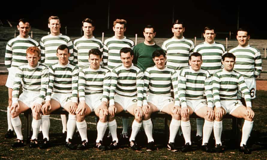 The Lisbon Lions in 1967.