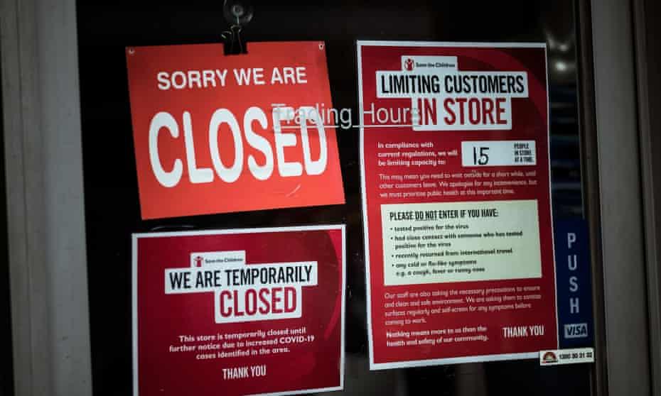 Closed shop Melbourne