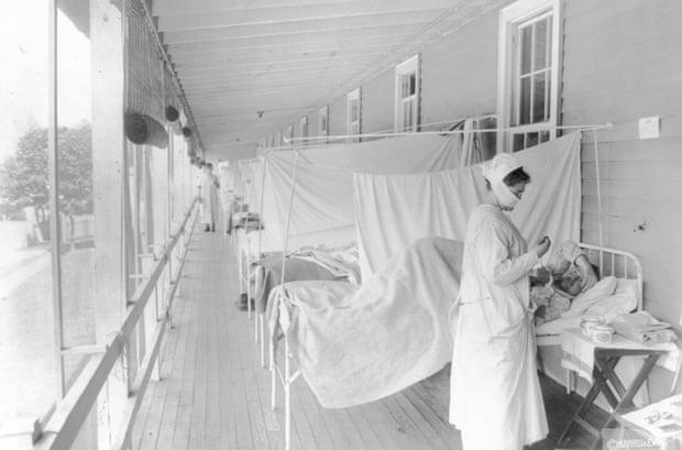 us , coronavirus,covid-19,1918-19 flu pandemic,The 1918-19 influenza pandemic ,harbouchanews