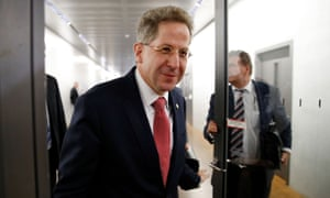 Hans-Georg Maaßen was at the centre of a destabilising row in Germany