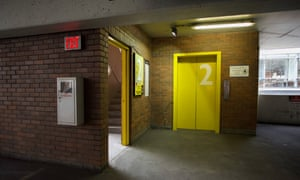 The SmartPark garage in downtown Portland, where Karen Batts died.