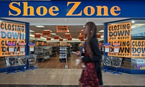 A Shoe Zone outlet