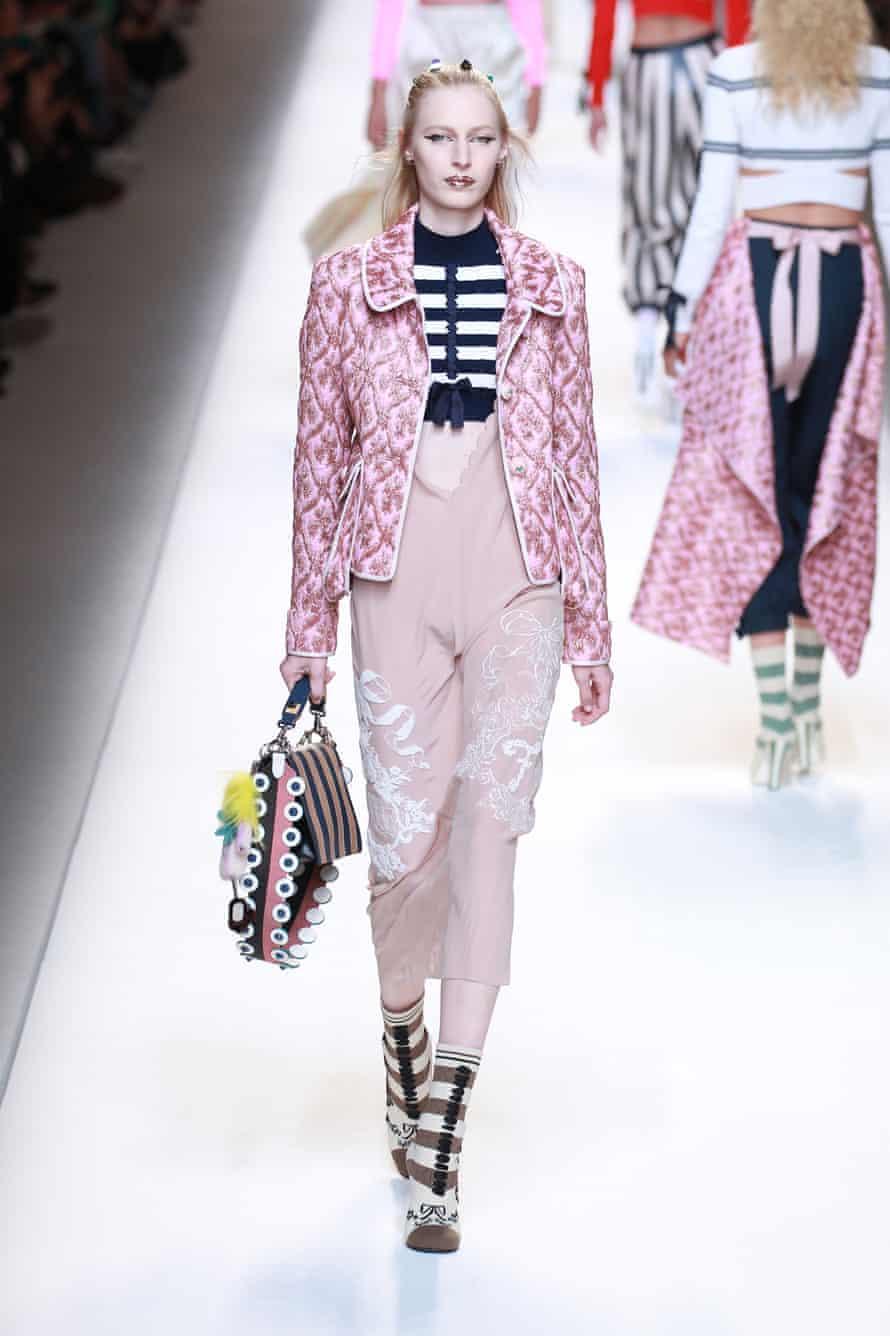 Fendi at Milan fashion week in September 2016