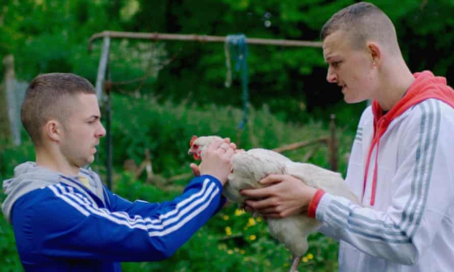 Alex Murphy and Chris Walley in The Young Offenders.
