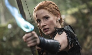 Off target … The Huntsman: Winter's War was a disappointing performer.