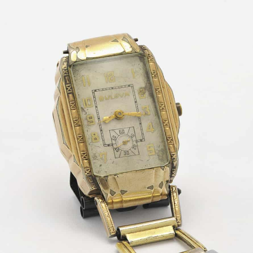 The watch belonging to Clyde Barrow, which sold at auction for $112,500.