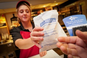 The average transaction at Greggs is £2.70.