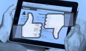 Facebook thumbs up symbols