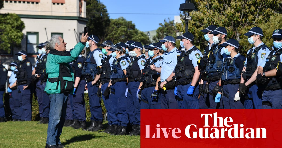 Covid Australia live news update: NSW police brace for lockdown protests as almost 50 new exposure sites listed