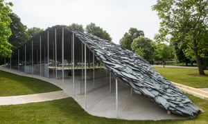 'A striking object, but it could have been so much better' … Junya Ishigami's Serpentine Pavilion.