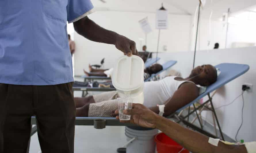 Haiti cholera center