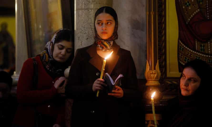 Epiphany celebrations in Georgia in January.