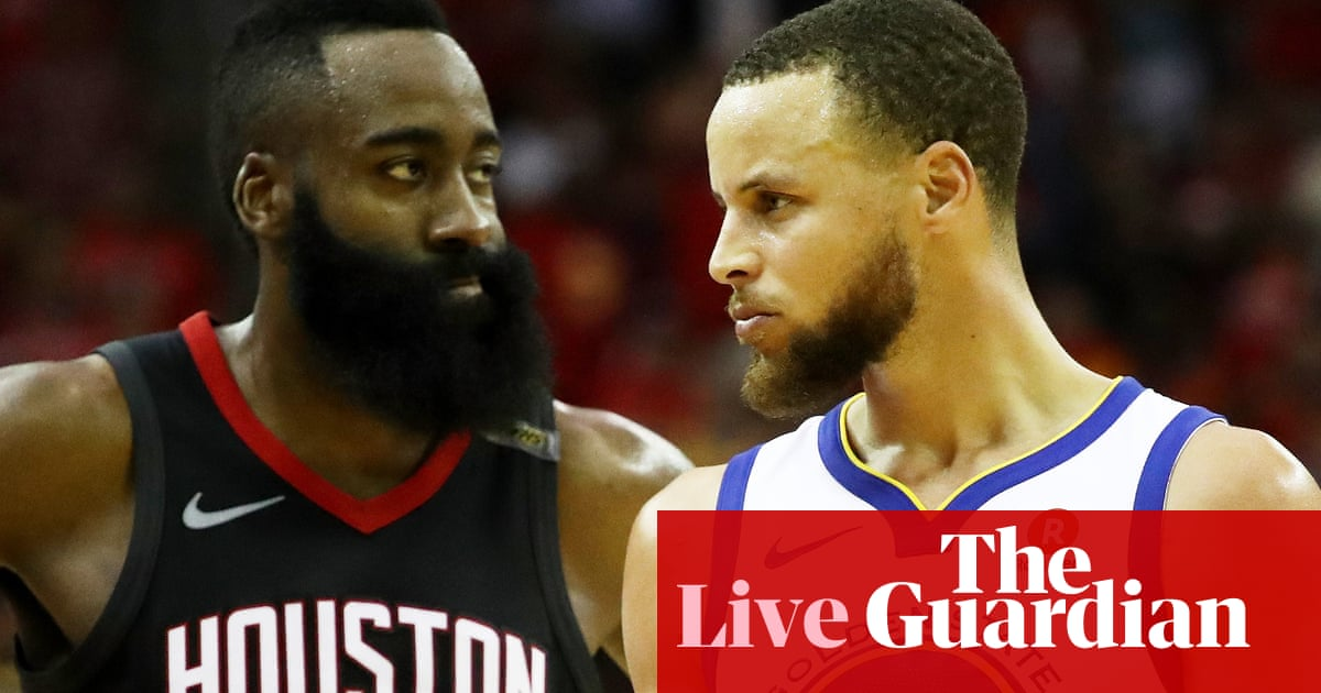 Golden State Warriors 101-92 Houston Rockets  NBA Western Conference finals  Game 7 – as it happened 033cef747