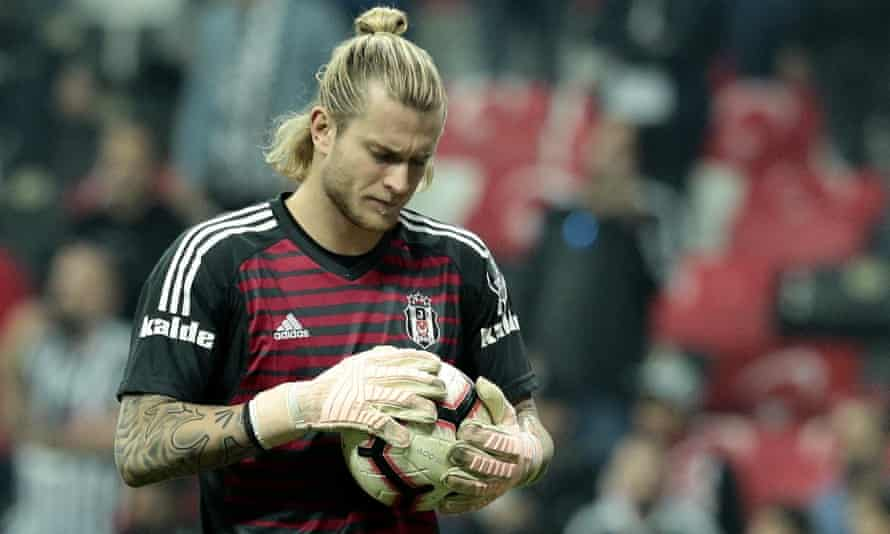 Loris Karius has conceded 15 goals in his first 10 games for Besiktas.