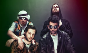 Confidence and humour … 47Soul, a band made up of members with Palestinian and Jordanian roots.