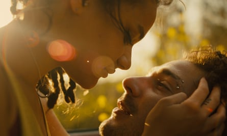 Lane and Shia LaBeouf in American Honey.