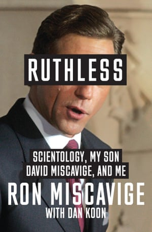 The cover art for Ruthless by Ron Miscavige