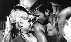 Terry Downes and Barbara Windsor in A Study in Terror, 1965.
