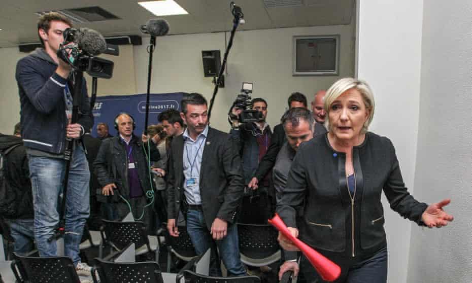 Marine Le Pen campaign rally, Perpignan, France - 11 Oct 2015