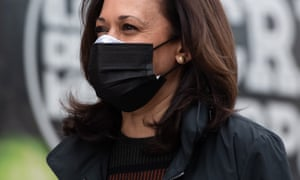 Both Harris and Biden have committed to taking a Covid vaccine as soon as possible.