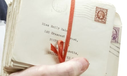 Letters from poet TS Eliot to Emily Hale in Princeton, New Jersey.