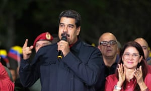 Nicolas Maduro speaks after gubernatorial elections brought surprise victories for many ruling party candidates in Venezuela.