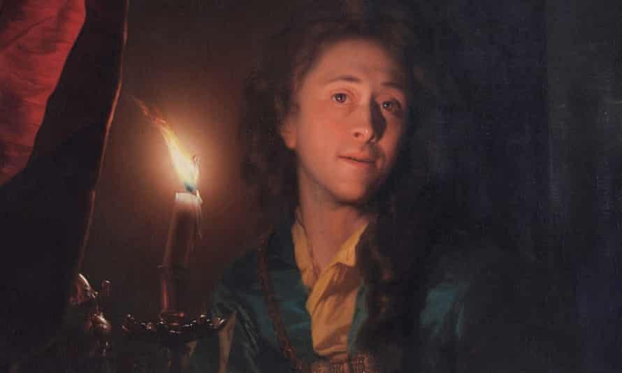 Self Portrait by Candlelight, 1695, Godfried Schalcken (1643–1706)