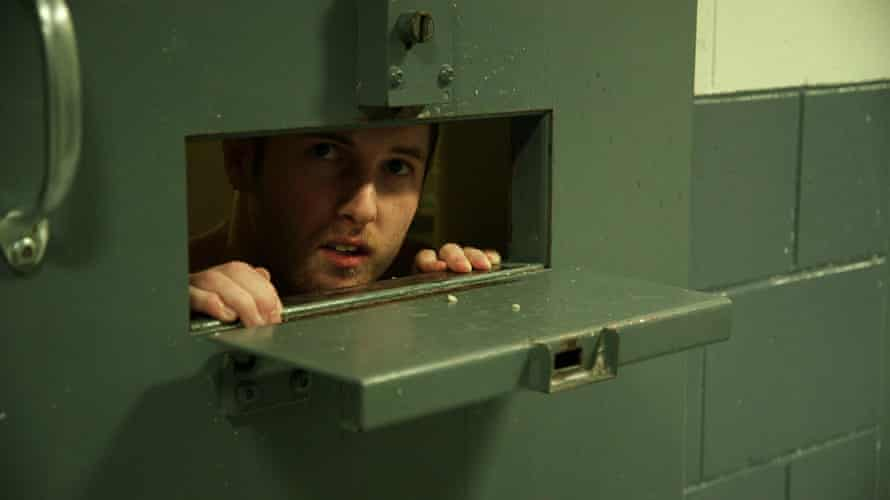 Image from he PBS Frontline documentary Solitary Nation, filmed in a prison in Maine