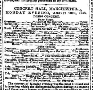 Manchester Guardian, 30 August 1848.