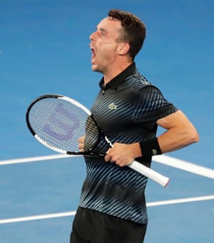 Agut is delirious but all the focus is on Murray