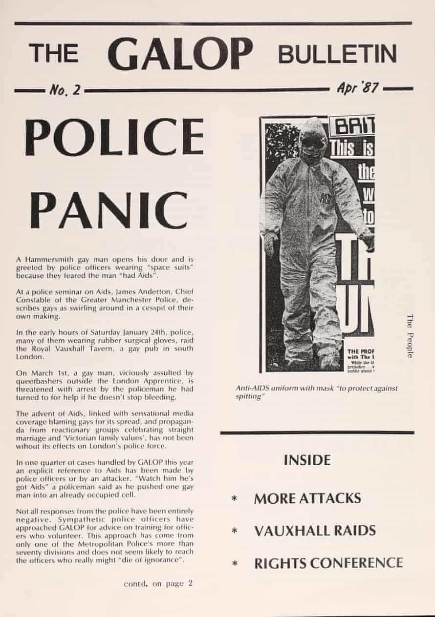 Galop Bulletin, 1987.