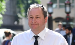 Mike Ashley court case<br>Newcastle United owner and Sports Direct boss Mike Ashley leaves the High Court in London