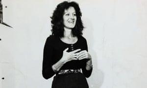 Germaine Greer in 1970: The Female Eunuch 'turned the world upside down'.