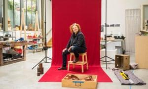 Rachel Whiteread in her London studio