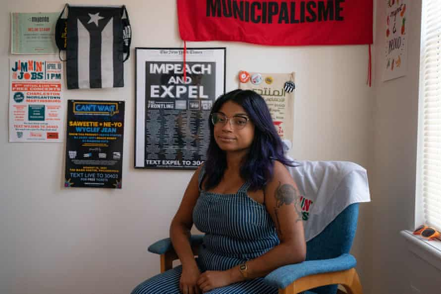 As one of the few Black Occupy organizers, Nelini Stamp realized 'you recreate a world, you're going to get the best parts of it and the worst parts of it.'